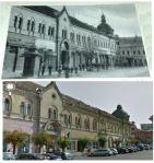 113 Dej, centrul in 1947 si in 2013