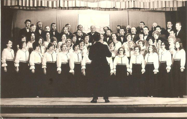 102 Dej, la Casa de Cultura 1978_ Multumim, Chira Laurentia