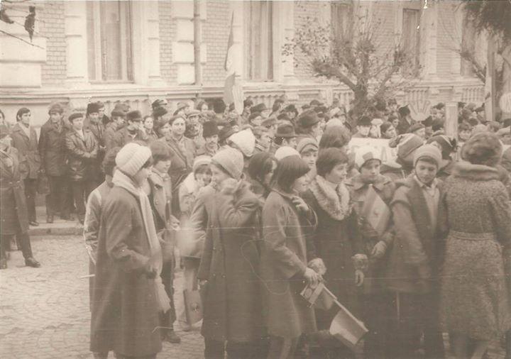 104 Dej, 1978_ Demonstratie pentru pace