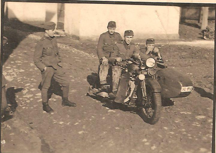 107 Dej, 1941, la Unitatea militara