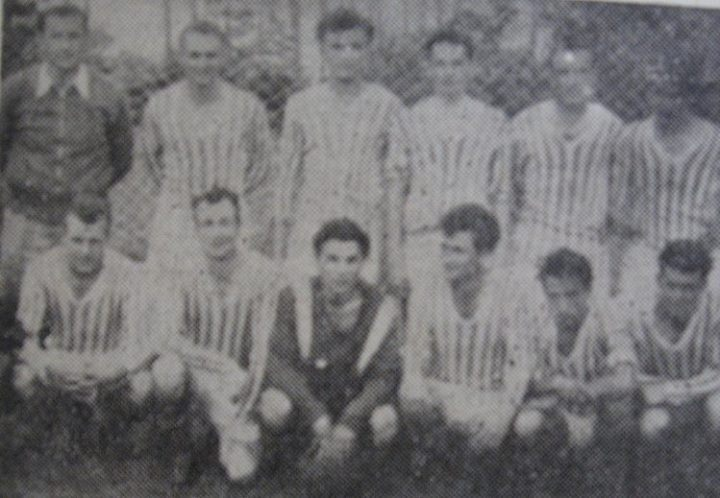 113 Dej, echipa de fotbal _Olimpia_ in 1963