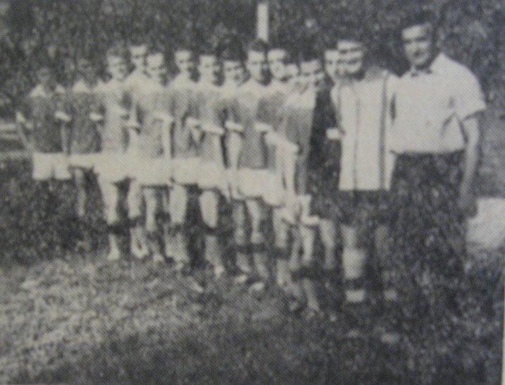 120 Dej, echipa de fotbal _Unirea_ in 1962