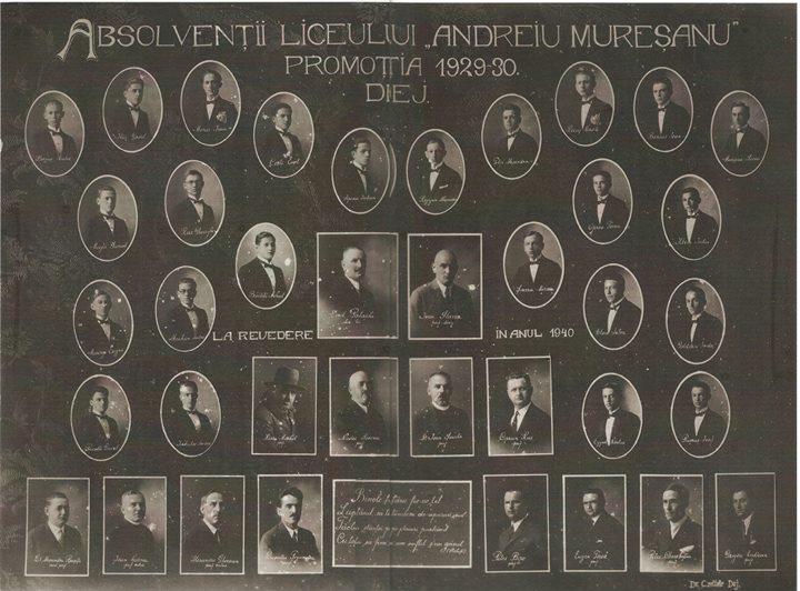 121 Dej, promotia 1930 a Liceului _Andreiu Muresanu
