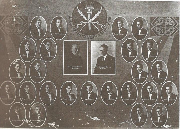 123 Dej, promoţia Liceului din 1940