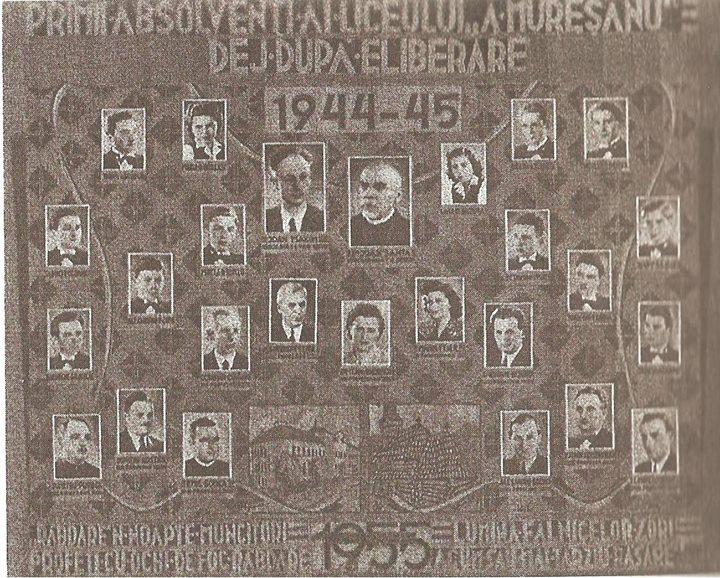 124 Dej, promotia Liceului _Andrei Muresanu _ 1945