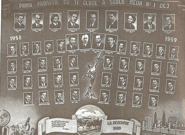 127 Dej, promotia 1959 de la Liceul _Andrei Muresanu_(atunci, Scoala Medie nr_1)