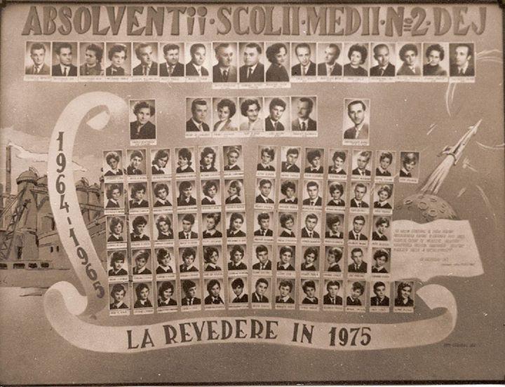 129 Dej_ Promotia 1965 a Scolii Medii nr_ 2 (actualul _Alexandru Papiu Ilarian_)