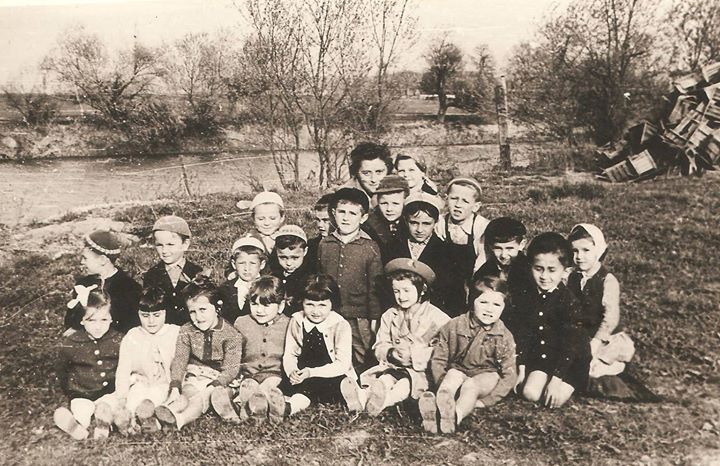 135 Dej, pe malul Somesului in 1961