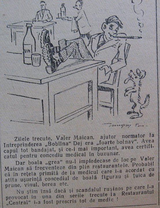 16 Dej, Ziarul local _Somesul_, 1961