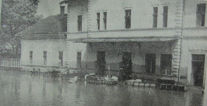 16 Dej_ Cam aşa arăta gara în 14 mai 1970
