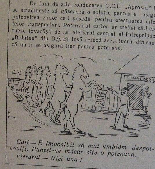 18 Dej, din ziarul _Somesul_, 1961