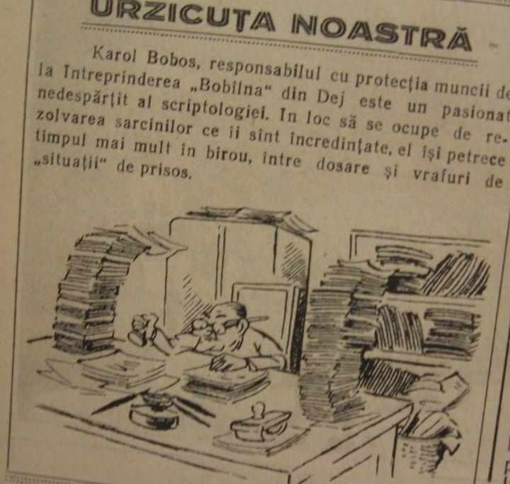 19 Din ziarul local _Somesul_ 1960