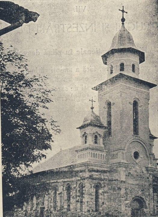 19 Ocna Dejului, biserica romana unita, in 1936, in constructie