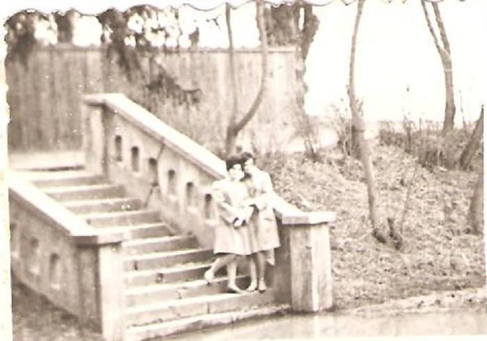 22 Dej, Parcul mare, 1970_ Apa este pana la treapta de jos