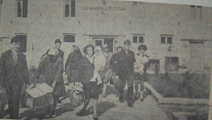 23 Dej 1970, de la Casa de Cultură se împart ajutoare pentru sinistraţi
