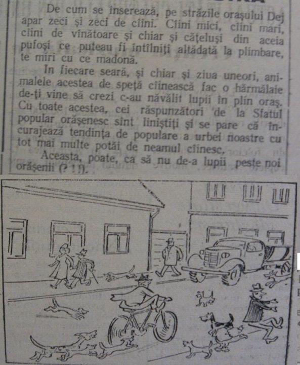 23 Dej, ziarul local _Somesul_, 1962