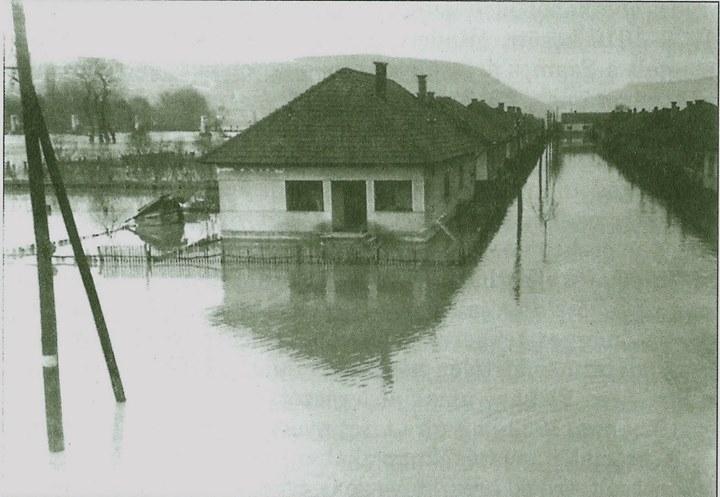 25 Dej, inundatiile din 1970