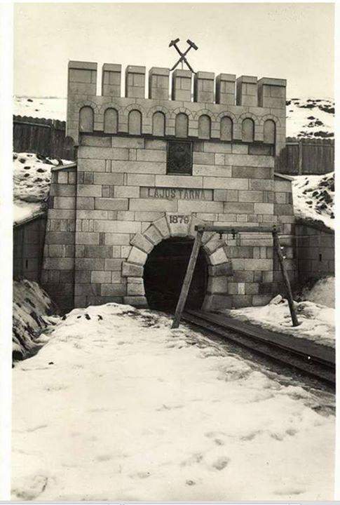 27 Ocna Dejului_ Intrarea in salina, 1941