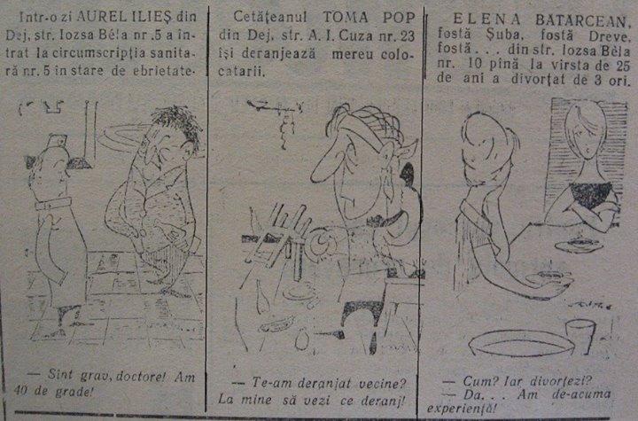 29 Dej, Ziarul local _Somesul_, 1962