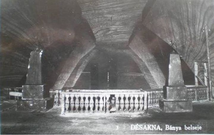 31 Ocna Dejului, interior mina, 1943