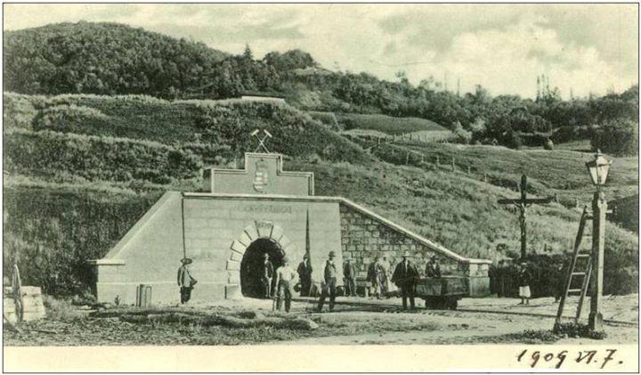 33 Intrarea in Salina Ocna Dejului la 1909