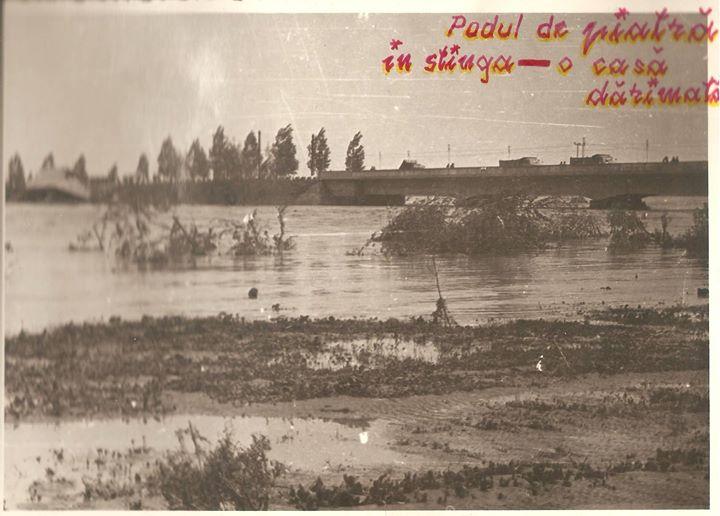 37 Dej, inundatii 1970