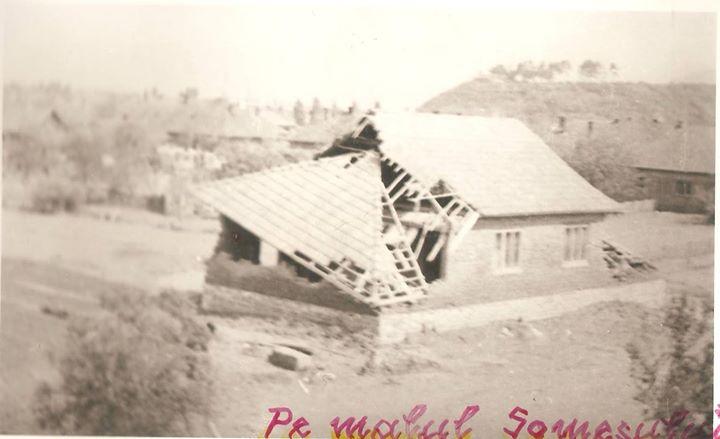 38 Dej, inundatii 1970_ Strada de peste pod