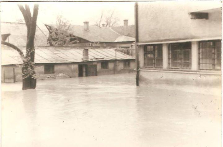 39 Dej, inundatii 1970