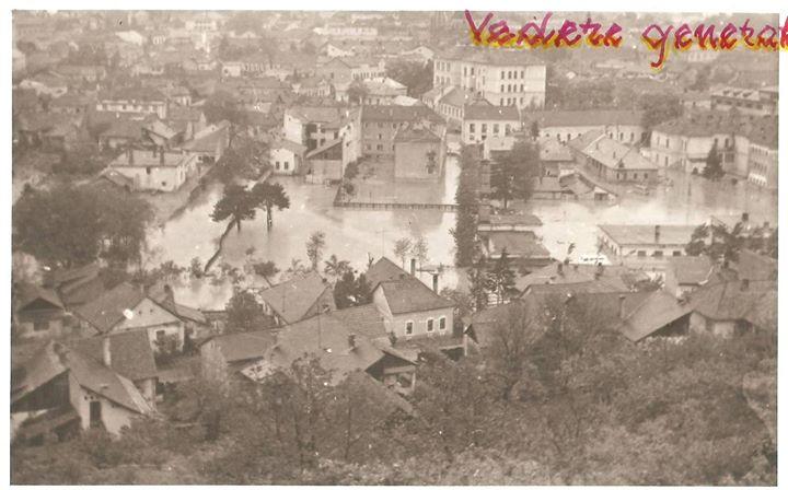 41 Dej, inundatii 1970