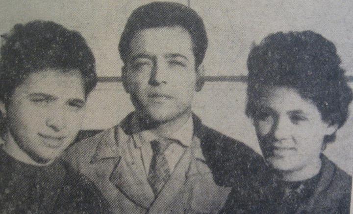 43 Zeţari de la Intreprinderea Poligrafică Dej, 1963_ Margareta Mathe, Vasile Roman, Zagoni Maria