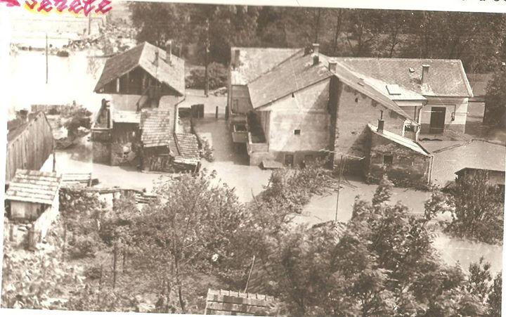 46 Dej, inundatii 1970