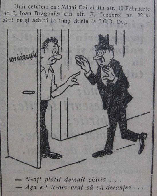 46 Dej, ziarul local _Somesul_, 1963
