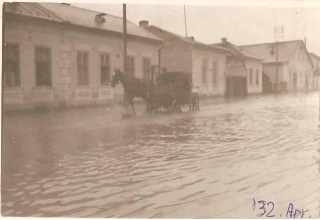 47 Dej, inundatii 1932