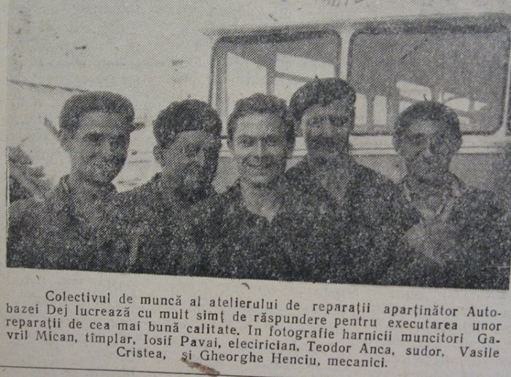 48 Dej, 1963_ Din ziarul _Somesul