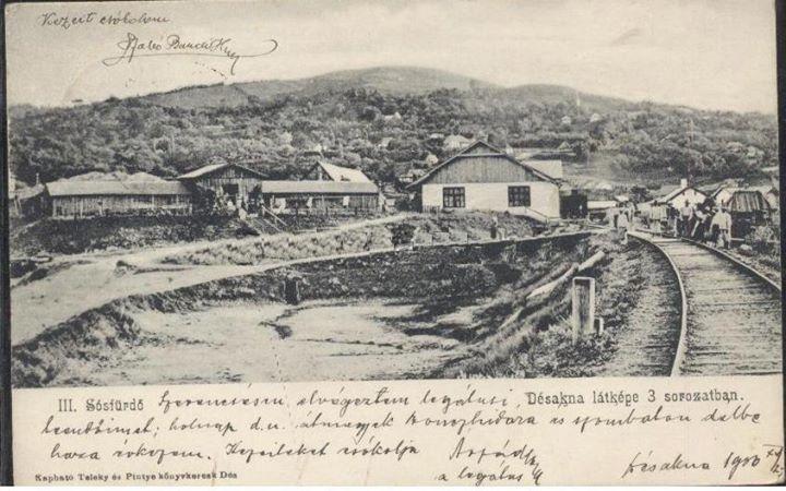 5 Dej, calea ferata la Ocna Dejului_ 1906