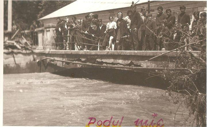 52 Dej, inundatii 1970_ Podul peste vale