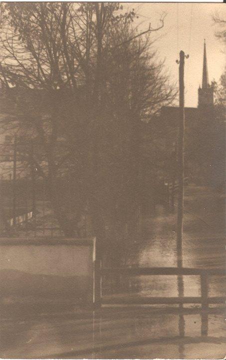 54 Dej, inundatiile din 1932