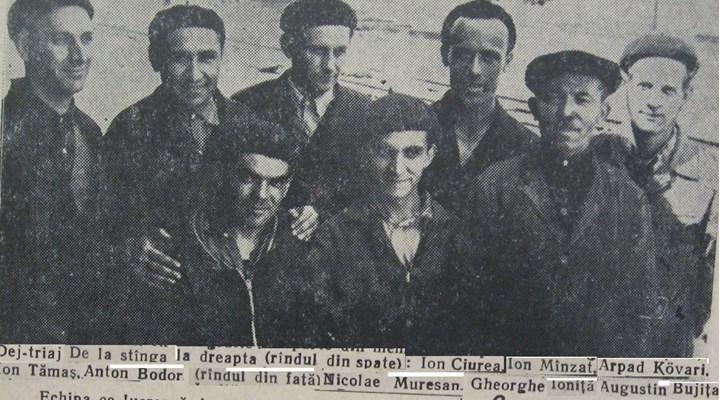 55 Dej, 1963, angajati CFR