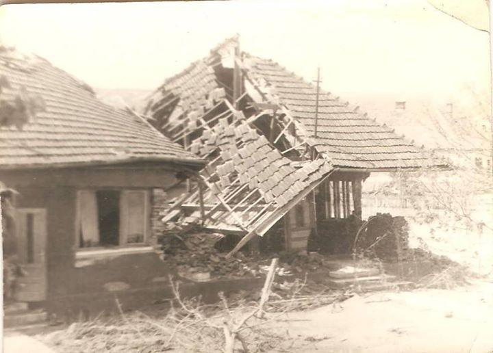 55 Dej, inundatii 1970
