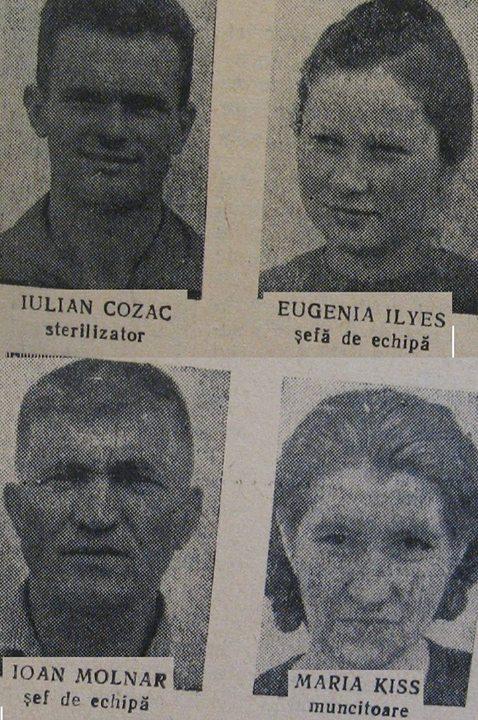 56 dej, angajati de la fabrica _11 Iunie_, 1963