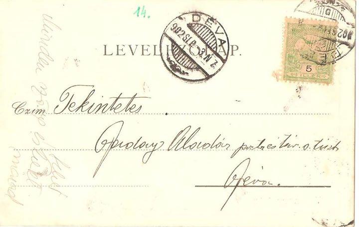 57 Dej, verso la c_p_ din 1902