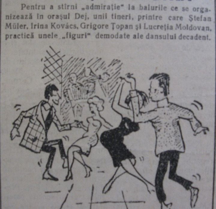 60 Dej, ziarul local _Somesul_, 1963