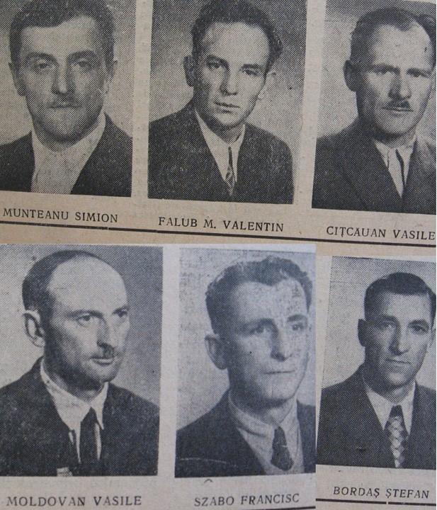 61 Dej, 1963, angajati la Salina