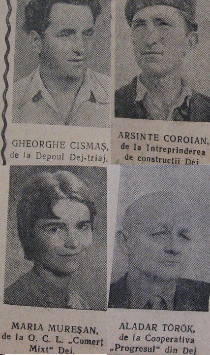 64 Dej, 1963_ Din ziarul _Somesul
