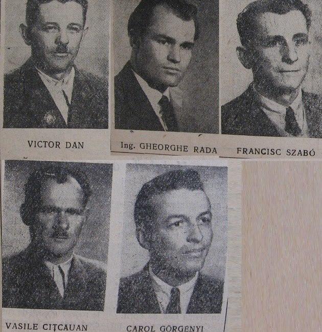 65 Angajati Salina Ocna dejului, 1963