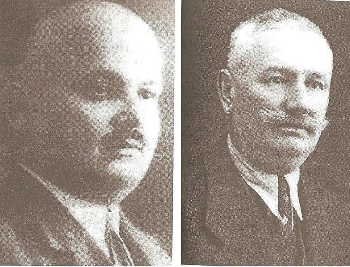 76 Directori ai Liceului _Andrei Muresanu_ Dej_ Victor Motogna (1885-1948) si Emil Patachi (1884-1964)