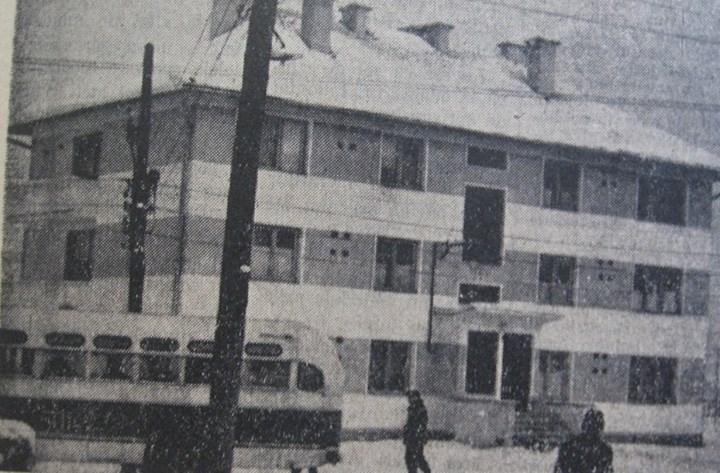 9 Ocna Dejului, 1962, bloc dat in folosinta