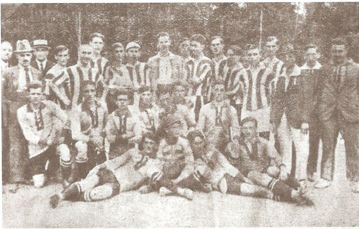 93 Clubul sportiv _Unio_ Dej, 1921 (impreuna cu o echipa din Cluj)