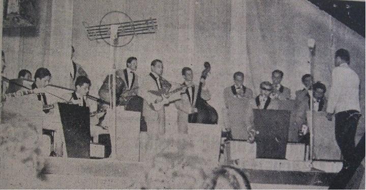 94 Dej, 1963_ Orchestra de muzica usoara a Casei Raionale de cultura