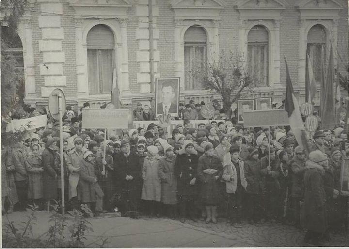 97 Dej, manifestatie 1978_ Multumim, Chira Claudiu, pentru poza